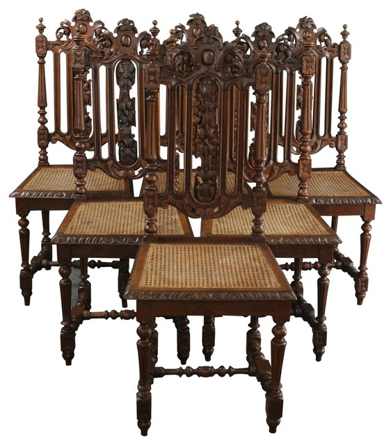 ebay au antique dining chairs consigned french hunting traditional australia oak with leather seats