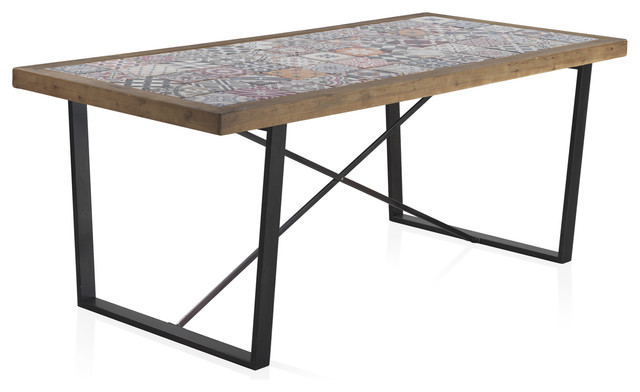 Alicante Tiled Dining Table