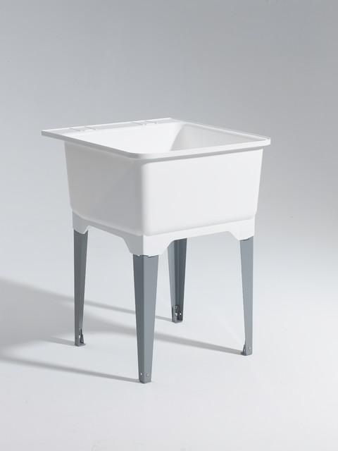 Standard Sink With Steel Leg, Essential Sink Kit.