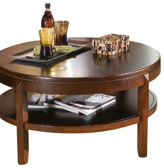 American Drew Tribecca 3 Piece Coffee Table Set With Entertainment Unit Traditional Coffee