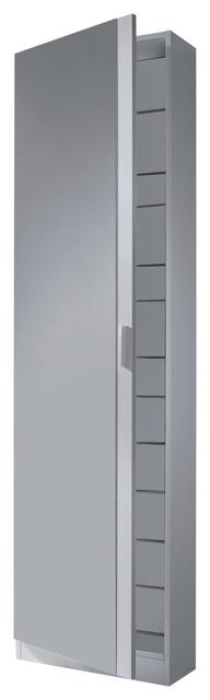 Kristal Shoe Rack With 1 Door and Mirror - Spare part