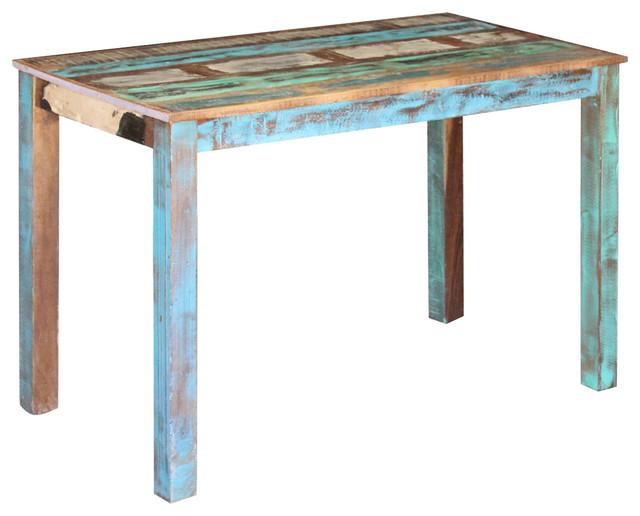 vidaXL Solid Reclaimed Wood Dining Table, 115x60x76 cm