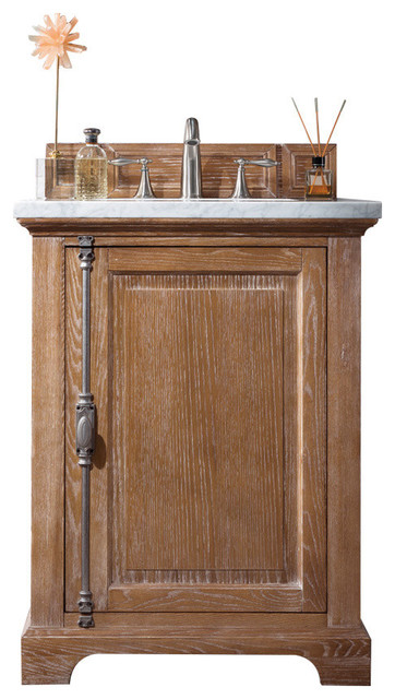 26 Providence Single Vanity Cabinet Only, Driftwood.