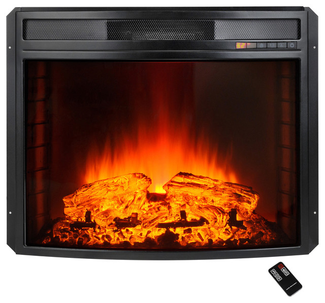 Akdy Electric Fireplace Heater Freestanding Insert With Remote Control, 28.