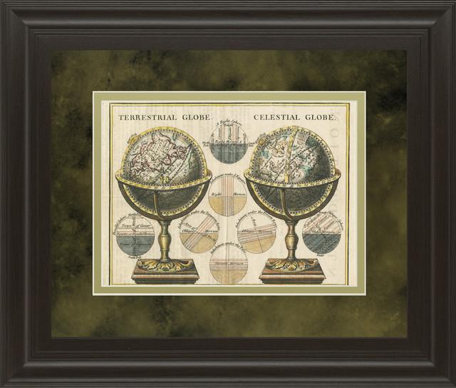 Antique Globes by Wild Apple Portfolio