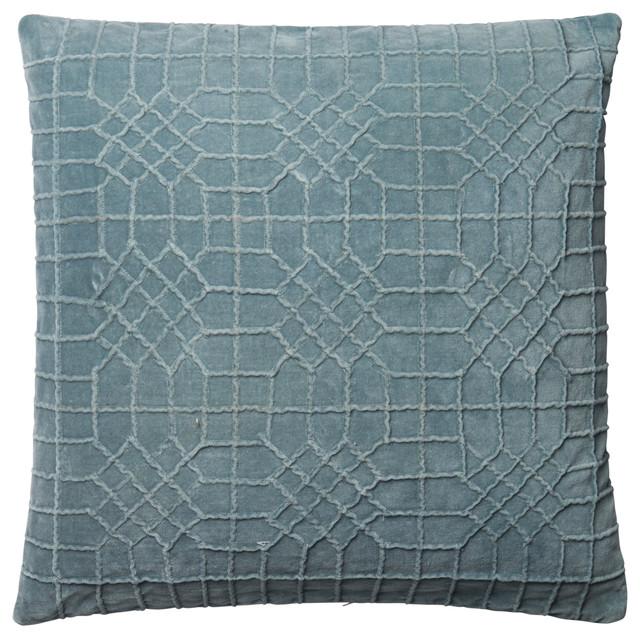 568478db4d725 Loloi Cotton Velvet Accent Pillow
