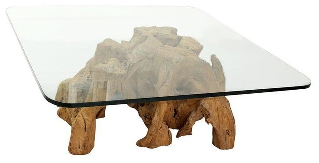 Great Organic Freeform Solid Burl Wood Coffee Table Base Modern Coffee Tables
