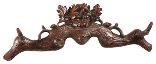 Oak Leaf And Acorns Wall Coat Hook