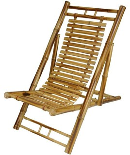 Japanese Bamboo Folding Chair   Asian   Outdoor Folding Chairs   By Oriental  Furniture