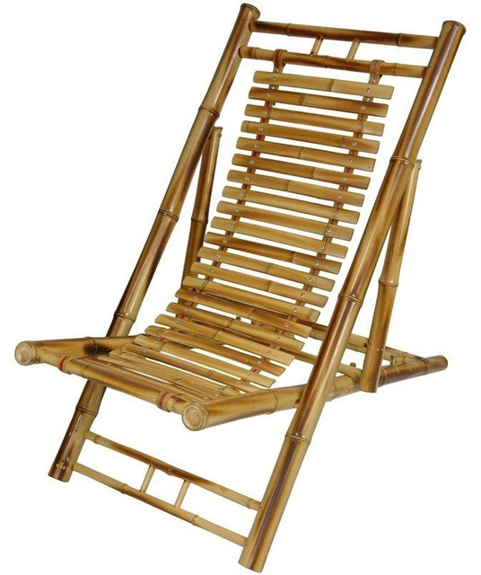 Superbe Japanese Bamboo Folding Chair