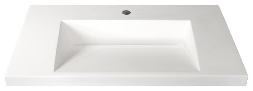 Ramp Sink Vessel 31 Bathroom Vanity Top Contemporary Bathroom Sinks By Marble Lite Industries Inc Houzz