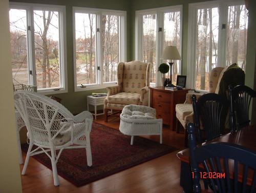 Sunroom/Living Room/Dining Room Furniture Re-do