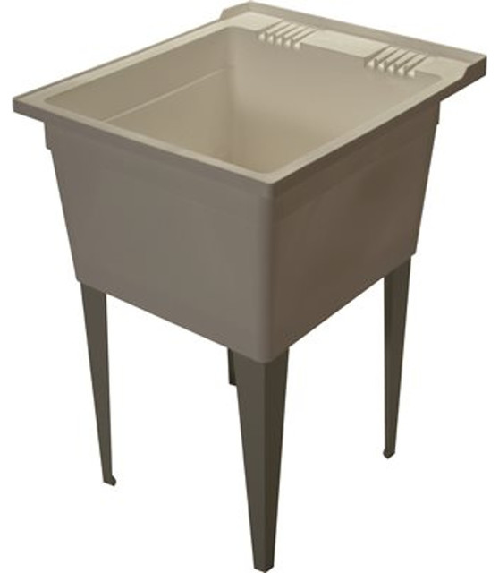 Zurn Floor Mounted 21 Gallon Laundry Utility Sink With