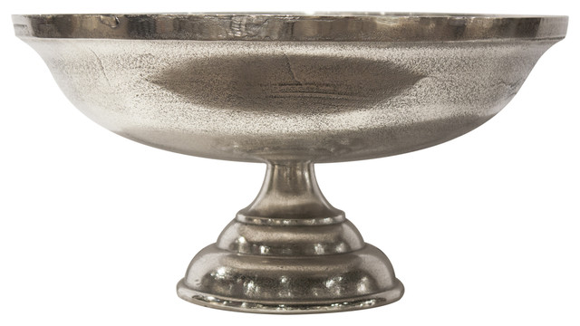 Accents for the home cast round centerpiece bowl