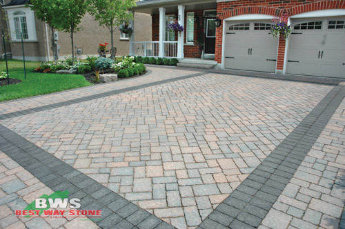 Driveway Designs Traditional Toronto By Best Way Stone