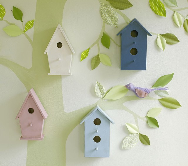Nursery Bird Decor Decorating Ideas