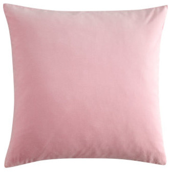 Light Pink Satin Throw Pillows : Cushion Cover, Light Pink - Contemporary - Decorative Pillows - by H&M