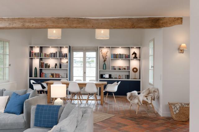 Visite Privee Renovation Harmonieuse D Une Maison De Famille
