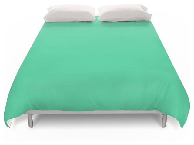 Grant Teal Green Duvet Cover Contemporary Covers And Sets By Society6