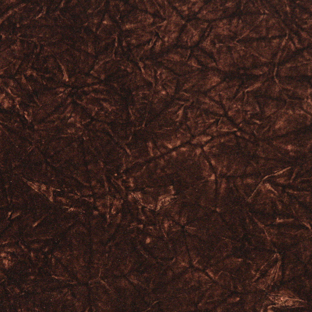 Brown Classic Crushed Velvet Upholstery Fabric By The Yard