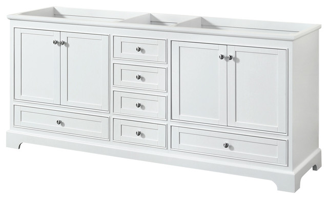 "deborah 80"" double vanity - bathroom vanities and sink consoles"