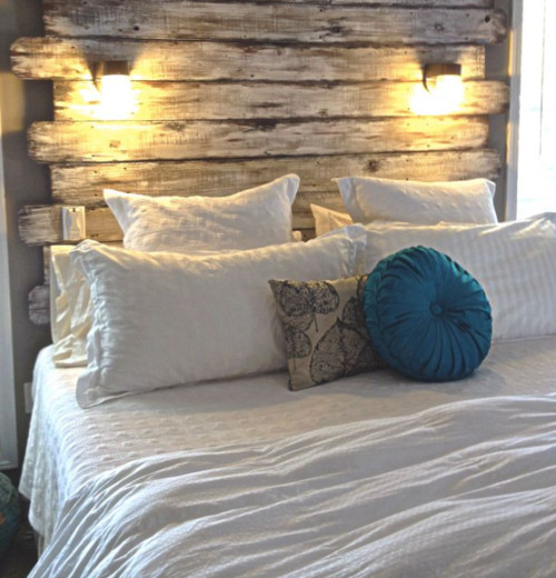 Pallet headboard for Home and garden television design 101
