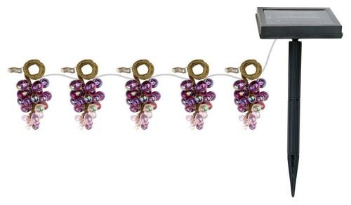 Solar led grape string lights mozeypictures Choice Image