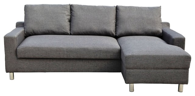 Turin Sectional Sofa, Right-Facing.