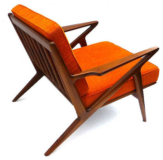 Classic Z Chair  sc 1 st  Houzz & Classic Z Chair - Midcentury - Armchairs And Accent Chairs - by ...