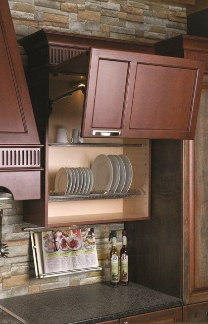 Beau KITCHEN WALL CABINET PLATE HOLDER ORGANIZER