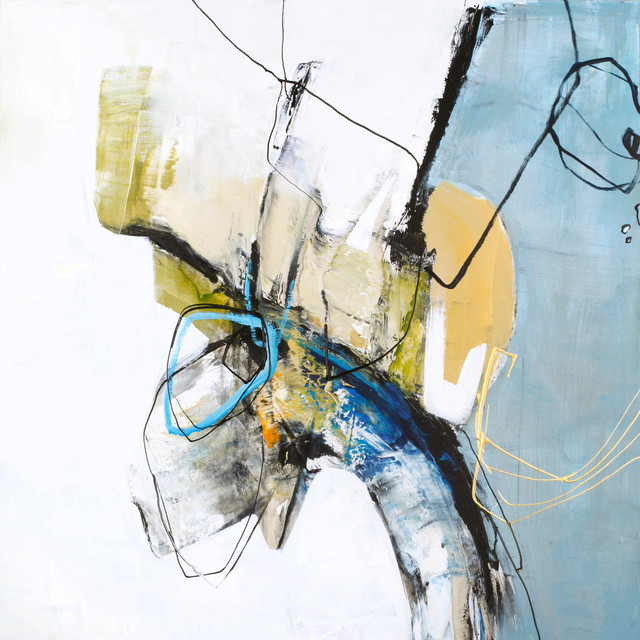 """Large Contemporary Artwork, """"Ignition 1"""""""