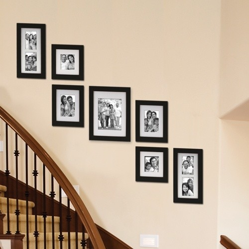 Staircase Wall Decorating Ideas Traditional Other By Stairs