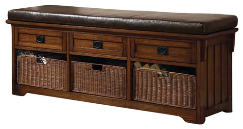 HOBART TRADITIONAL STYLE STORAGE BENCH