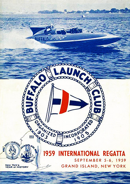 1959 International Regatta Buffalo Launch Club Grand