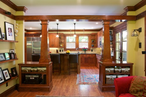 Craftsman Kitchen in Morningside Atlanta GA