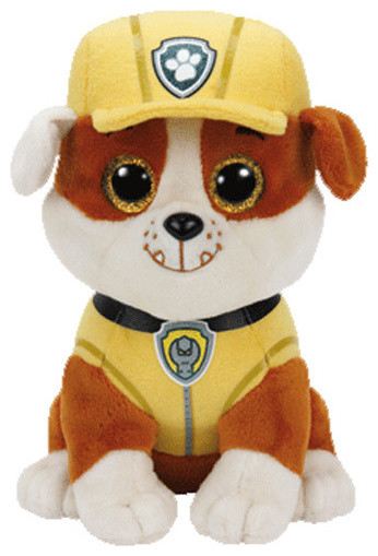 Ty Paw Patrol Beanie Boo Rubble Toy Contemporary Kids Toys And