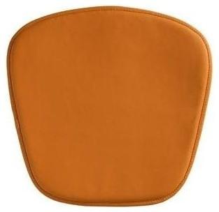 Wire/mesh Chair Cushion, Orange.