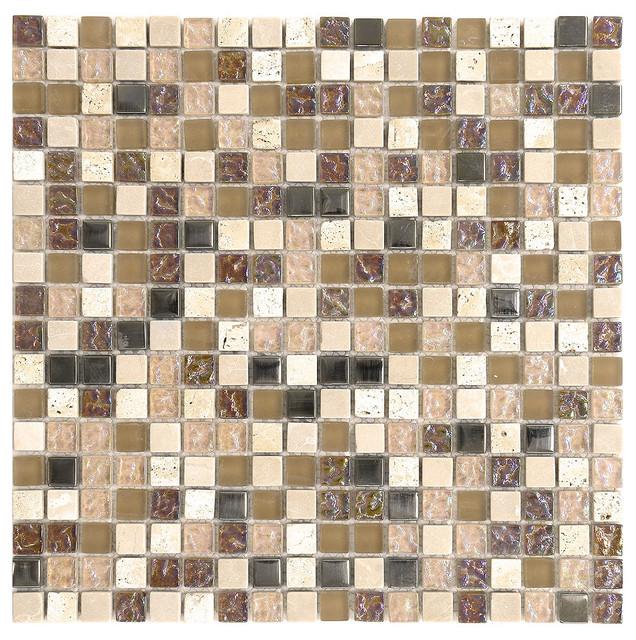 Gl Mosaic Backsplash Tile