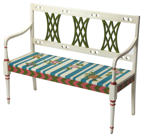 Fawcett Alice, Wonderland Modern Rectangular Bench, Assorted