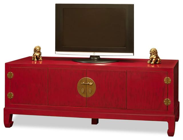 Elmwood Kang Media Cabinet - Asian - Media Cabinets - by ...