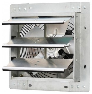 Iliving variable speed shutter exhaust fan wall mounted - Commercial exhaust fans for bathrooms ...