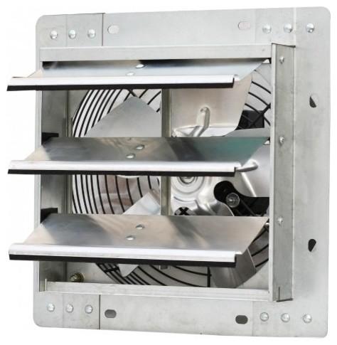 WallMounted Variable Speed Shutter Exhaust Fan Industrial - Industrial bathroom fan