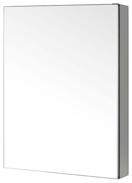 "Virtu Usa Confiant Medicine Cabinet In Mirror, 20""."