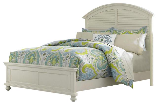 Broyhill Broyhill Seabrooke California King Panel Bed Cream Furniture Houzz