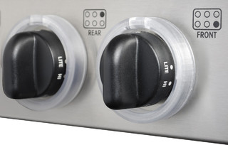 Kid Kusion Clearly Safe Stove Knob Locks, 5 pack - Traditional - Baby Gates And Child Safety ...