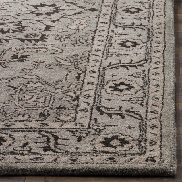 Safavieh Antiquity At58a Gray/beige Rug, 8&x27;0x10&x27;0 Rectangle.