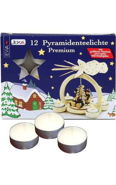 Ewa, German Tea Lights, Set Of 12.