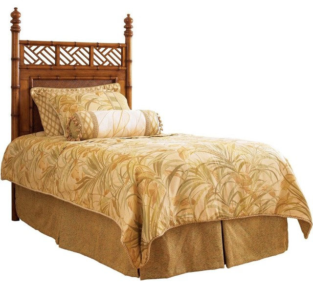 shop houzz  tommy bahama home island estate west indies twin, Headboard designs