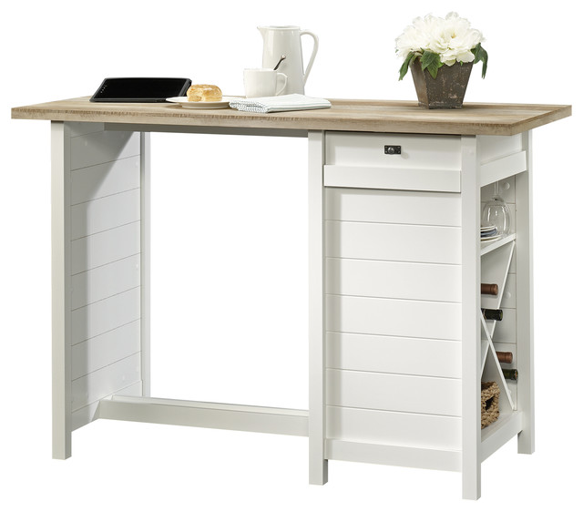 Cottage Road Work Table Soft White