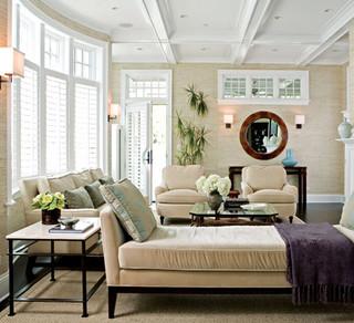 Nantucket Style modern living room